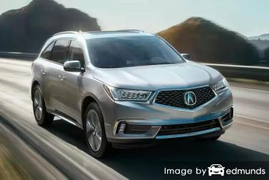 Insurance quote for Acura MDX in Miami