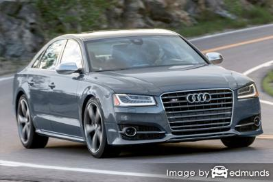 Insurance quote for Audi S8 in Miami