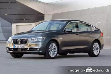 Insurance rates BMW 535i in Miami