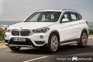 Insurance quote for BMW X1 in Miami