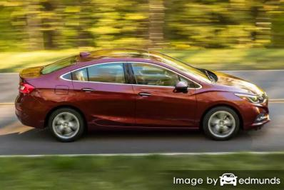 Insurance rates Chevy Cruze in Miami