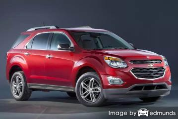 Insurance quote for Chevy Equinox in Miami