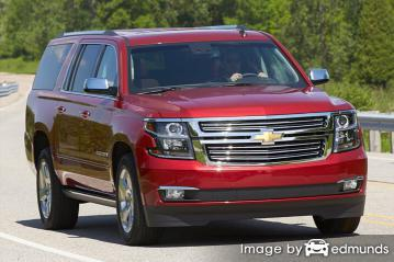 Insurance rates Chevy Suburban in Miami