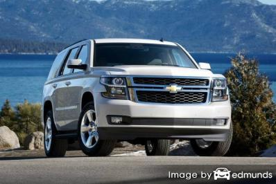 Insurance rates Chevy Tahoe in Miami