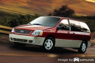 Insurance rates Ford Freestar in Miami