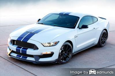 Compare Ford Shelby GT350 Insurance Quotes in Miami Florida