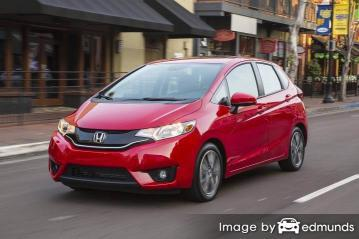 Insurance rates Honda Fit in Miami