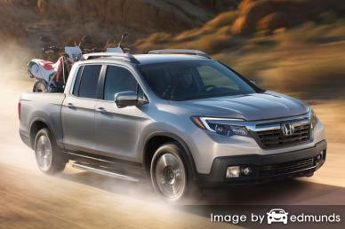 Insurance quote for Honda Ridgeline in Miami