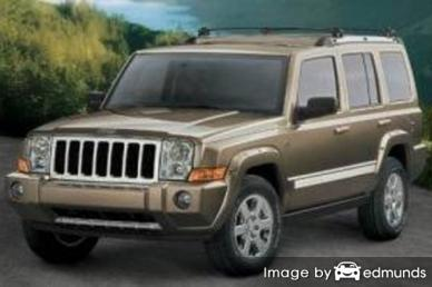 Insurance quote for Jeep Commander in Miami