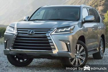 Insurance quote for Lexus LX 570 in Miami