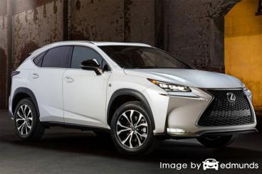 Discount Lexus NX 200t insurance