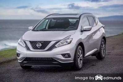Insurance rates Nissan Murano in Miami