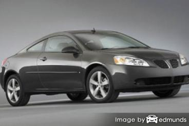 Discount Pontiac G6 insurance