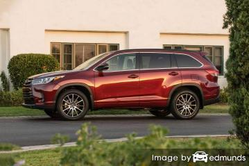Insurance quote for Toyota Highlander in Miami