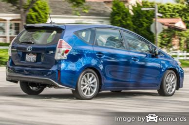 Insurance quote for Toyota Prius V in Miami